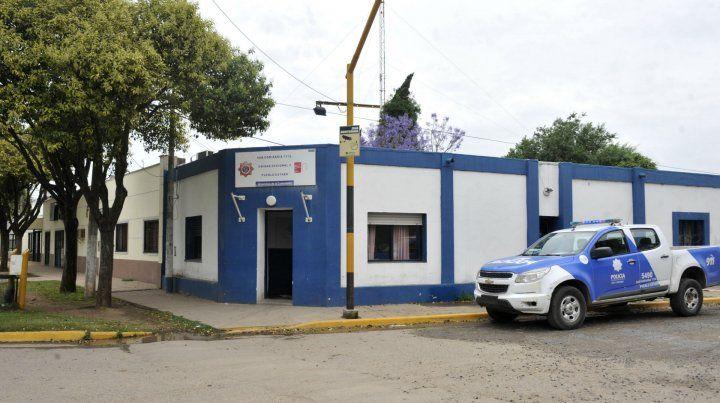 La subcomisaría 15ª de Pueblo Esther.