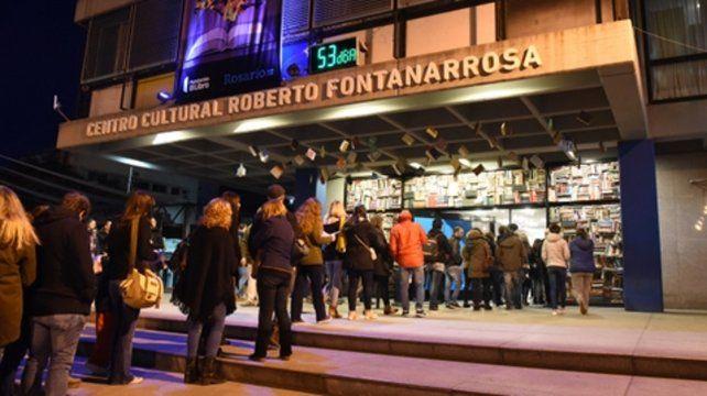 A pleno. El Centro Cultural Fontanarrosa fue el marco de este evento.