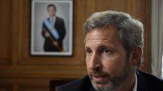 Posición. Rogelio Frigerio, titular de Interior, estima que el vínculo con los gobernadores del PJ sigue intacto.