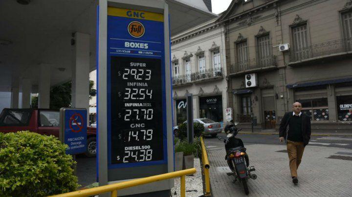 Cómo quedaron los precios de los combustibles con el nuevo aumento