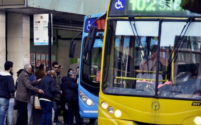 Nuevo valor. El aumento del transporte de pasajeros regirá desde la medianoche del martes.