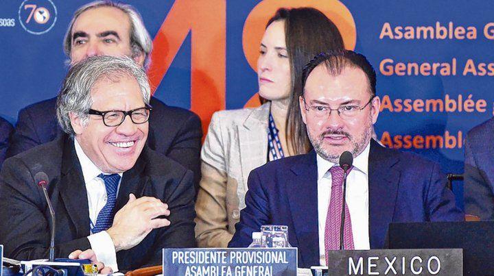 El secretario general de la OEA