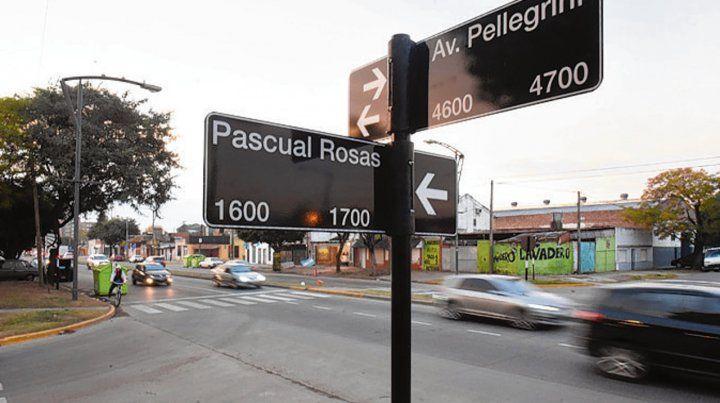Esquina. Dos de las víctimas fueron baleadas en Pascual Rosas y Pellegrini.