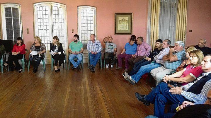 Primer encuentro. El reflotado Consejo se reunió en el municipio.