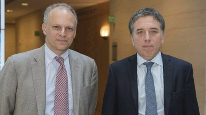 Cumbre. El referente del FMI para el Hemisferio Occidental se reunió en varias oportunidades con Dujovne.