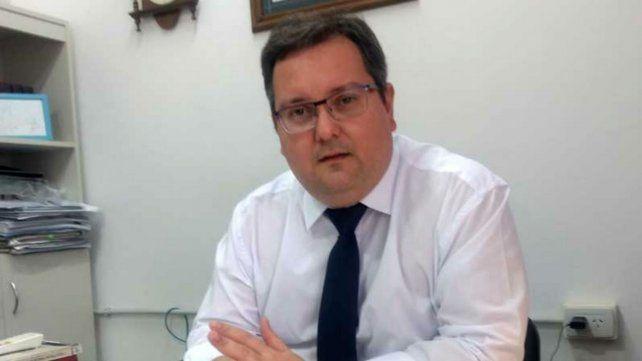El fiscal adjunto Mauricio Clavero.