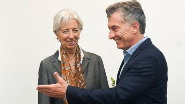 Todo suyo. Lagarde y Macri se encontrarán en Canadá.