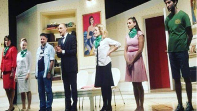 La denuncia fue presentada por una espectadora contra el elenco de la obra teatral Toc Toc.