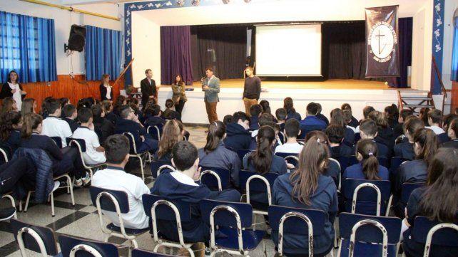 San Lorenzo: alumnos participan de un plan de gestión de residuos