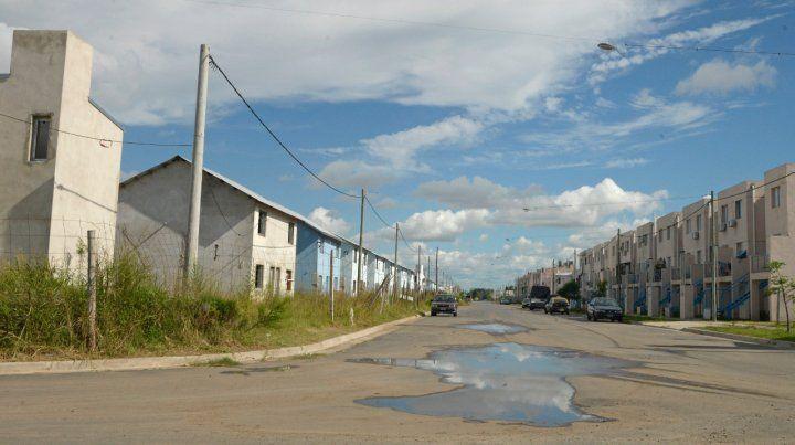 La zona de barrio Polledo