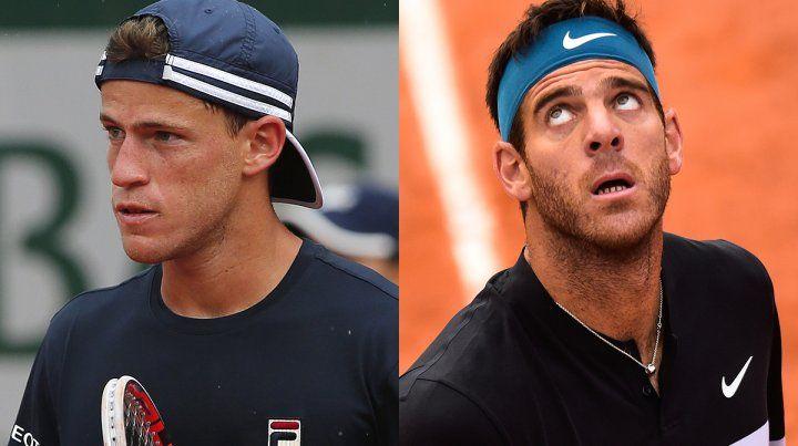 Interrumpidos. La lluvia frenó los partidos de Schwartzman y Del Potro en Roland Garros.