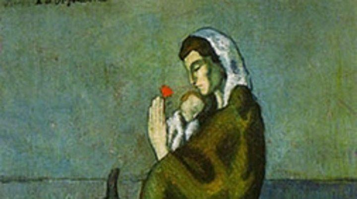 Picasso pintó una obra sobre un diario
