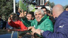 Acá estoy, vengan, llévenme si quieren, desafió Hugo Moyano al gobierno nacional.
