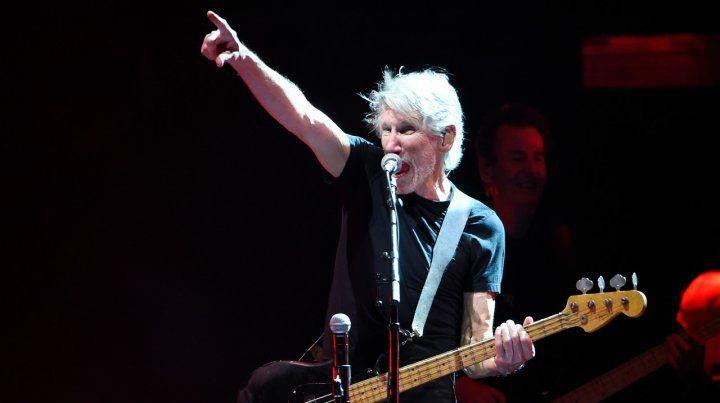 Roger Waters celebró la suspensión del amistoso de Argentina