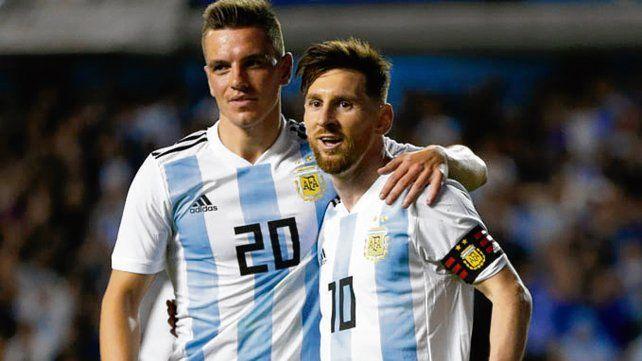 El único indiscutido. Obviamente es Messi