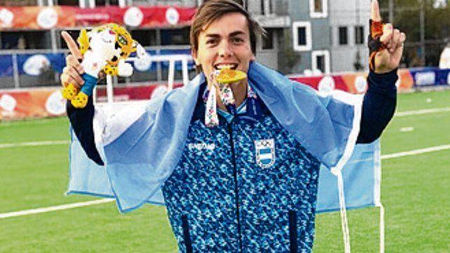 Campeón. El rosarino Nicolás Acosta.