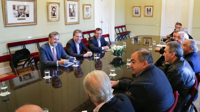 Reunión cumbre. Gobierno y CGT volverán a verse las caras el próximo martes