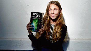 Paulina Ferrero, una fiel lectora de la saga del mago de Hogwards.