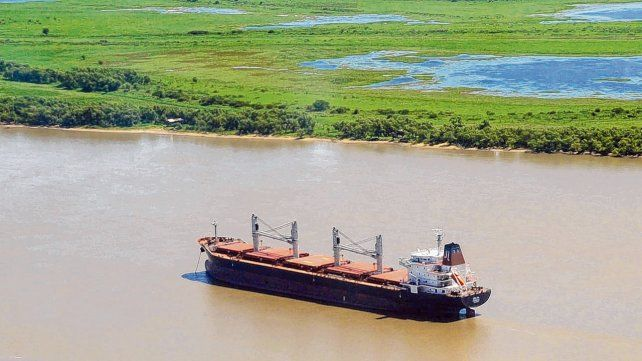 El río Paraná modera las temperaturas de Rosario