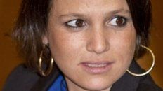Inés Zorreguieta, de 33 años.