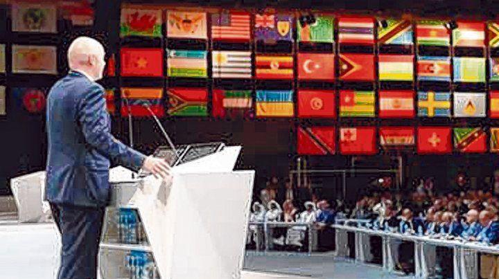 Decisiones. El miércoles próxima la Fifa celebra su Congreso número 68 y allí decidirá dónde se juega el Mundial 2026.