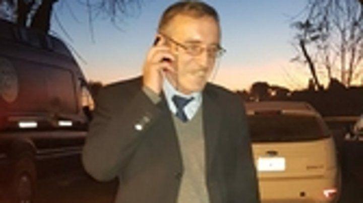 Hugo Tognoli volvió anoche con su familia a la ciudad de Santa Fe.