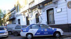 Elina fue detenida y trasladada a la comisaría 7ª.