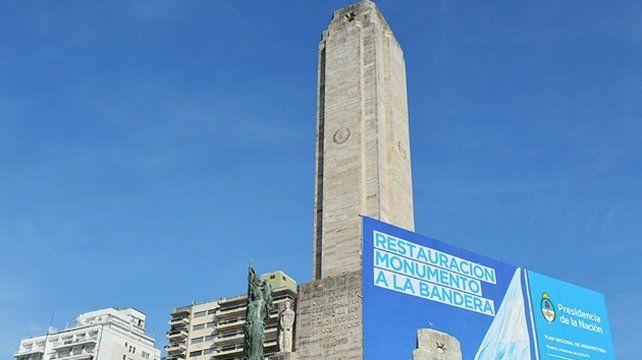 La restauración del Monumento fue un proyecto encarado por el municipio pero financiado y llevado adelante por el gobierno nacional.