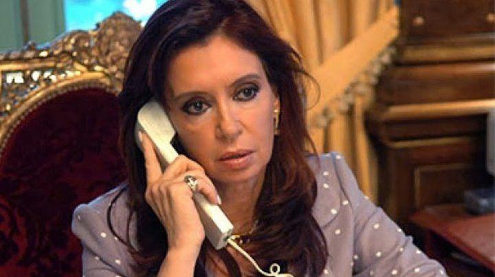 Investigarán llamadosentre Cristina y exfuncionarios de su gobierno
