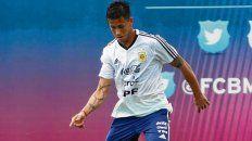 Gana terreno. El jugador de Independiente asoma con más chances de ser titular.