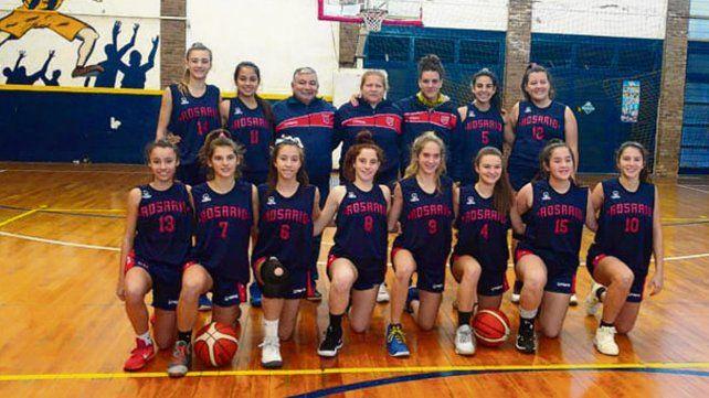 U15 femenino en Cañada