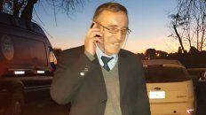 Libre. Hugo Tognoli volvió anoche con su familia a la ciudad de Santa Fe.
