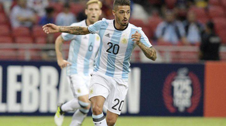 Lanzini se rompió los ligamentos cruzados y se queda sin Mundial
