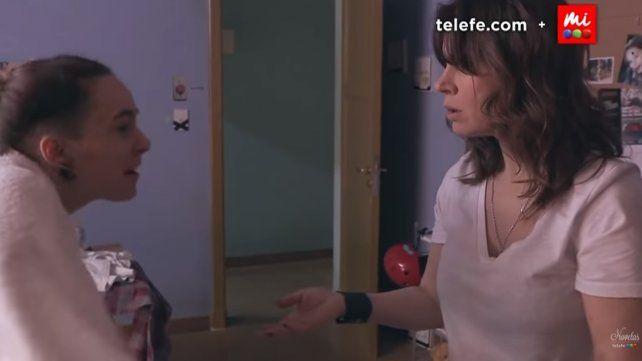 En una impactante escena Juani le revela a su mamá que está incómoda con su cuerpo