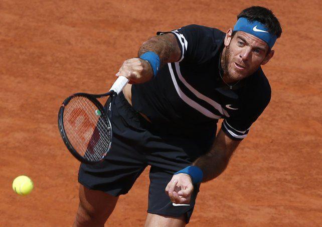 Del Potro perdió ante Nadal en tres sets y se despidió de Roland Garros