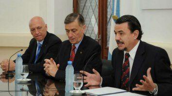 Antonio Bonfatti, Hermes Binner y Rubén Galassi, los que más sufrieron la detención de Hugo Tognoli.