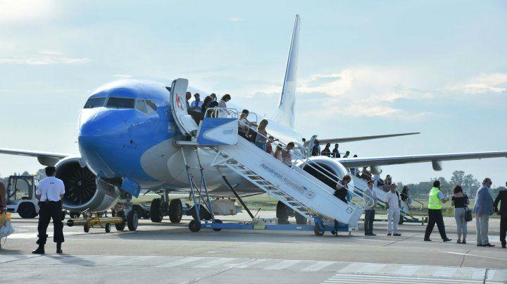 Los vuelos comenzarán en octubre con tres vuelos semanales y se irán incrementando hasta llegar a cinco a mediados de diciembre. (Foto de archivo)
