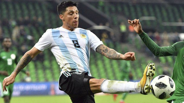 Enzo Pérez está feliz tras al convocatoria a la Selección.