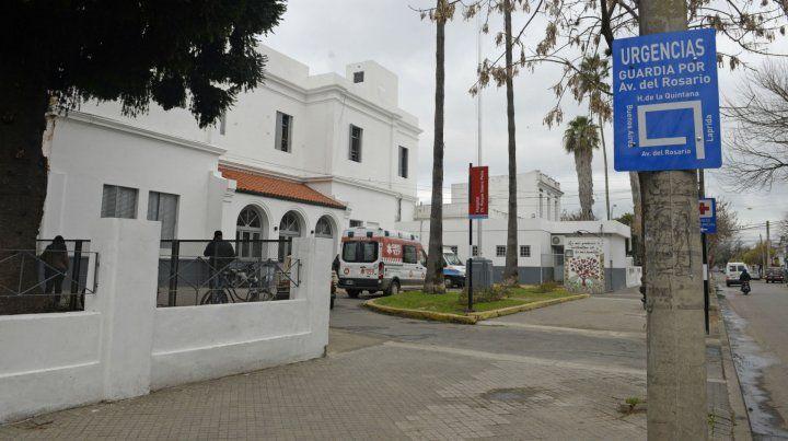 La víctima fue derivada al Hospital Roque Sáenz Peña