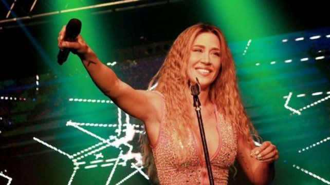 Jimena Barón mostró las huellas que le dejó su increíble show
