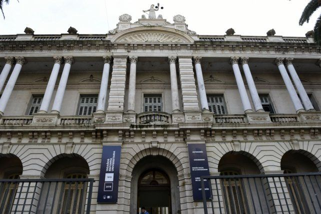 La Facultad de Derecho de la UNR.