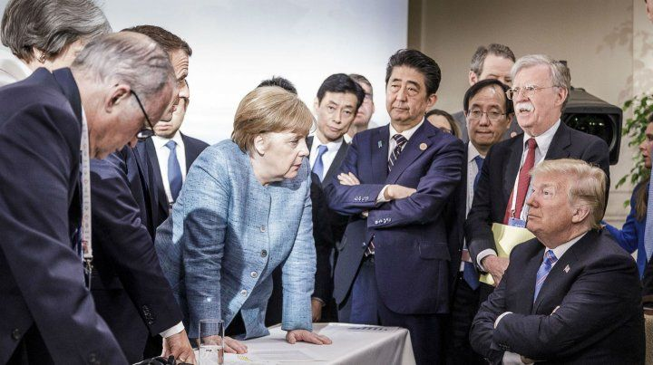 La alemana Merkel parece retar a Trump