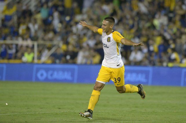 De punta. Maziero hizo dos goles ante Chacarita y despertó muchos interés en varios equipos del exterior. El pibe de Luis Palacios podría nutrir la ofensiva de Rayo Vallecano.