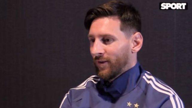 Messi y su continuidad en la selección tras el Mundial