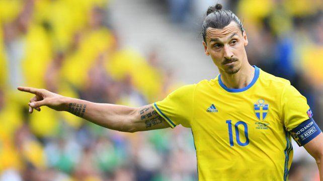 Ibrahimovic señaló al culpable de su ausencia en el Mundial de Rusia