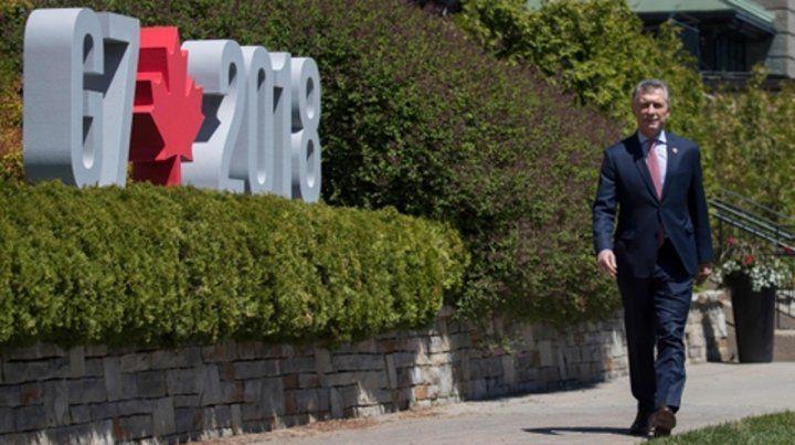 En Quebec. El primer mandatario tuvo jornada de descanso tras el cierre de las deliberaciones de G7.