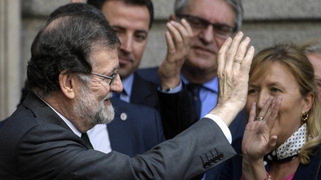 Adiós. Rajoy se despide el 1º de junio