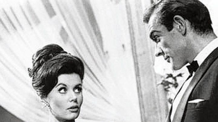 El último adiós de la primera chica Bond