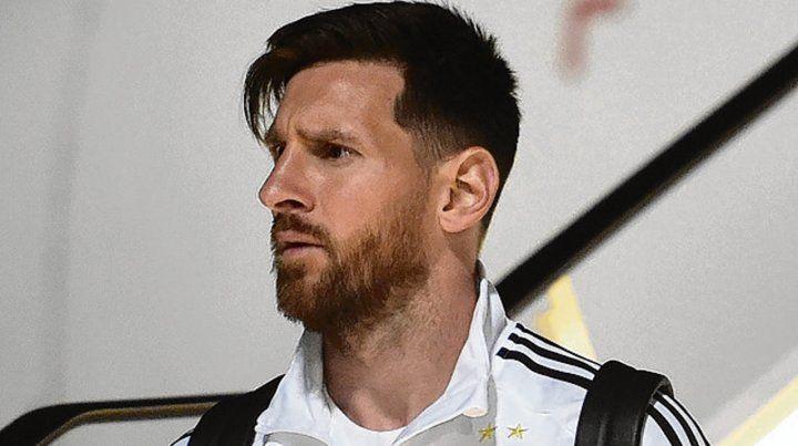 Pulga. Messi dio como candidatos a Brasil