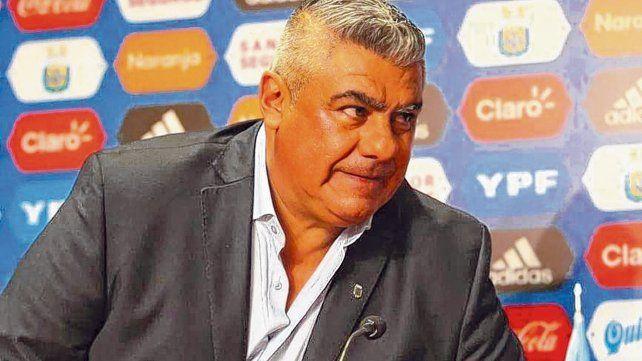 Voz oficial. Tapia está abocado de lleno al día a día de la selección argentina. Eligió a Sampaoli y banca a muerte al DT.
